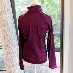 PINK Victoria's Secret Tops - VS 💟PINK Ultimate 1/2 zip pullover burgundy wine